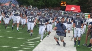 hs football run out  creekview