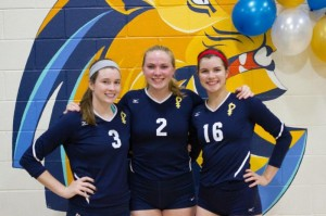 St. Pius X Volleyball Trio All Set To Sign