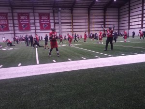 Falcons Tune Up For Post Season Run