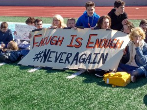 APS Students Take Part In National Walkout Day