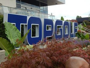 Campers Enjoy TOPGOLF